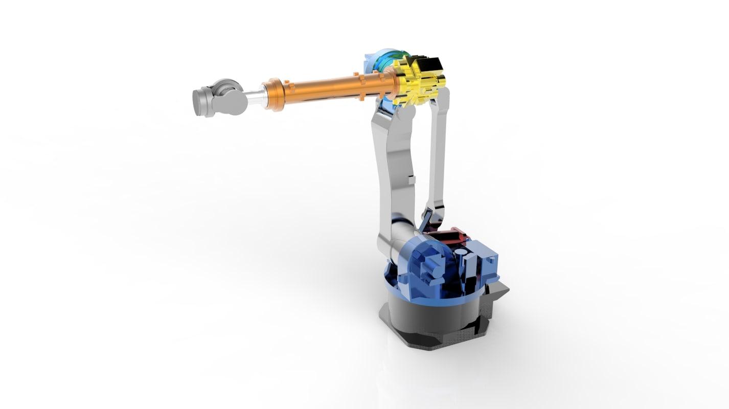 3d model robotic arm manipulator