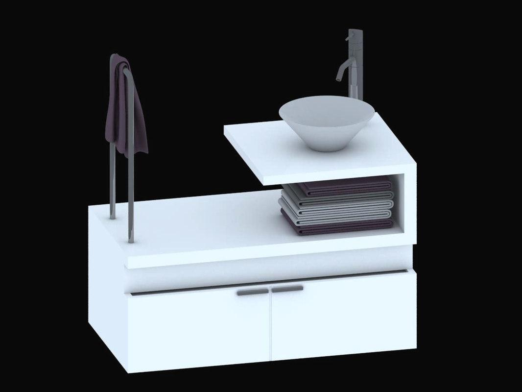 3ds furniture bathroom