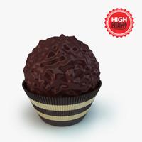 chocolat ferrero 3d c4d