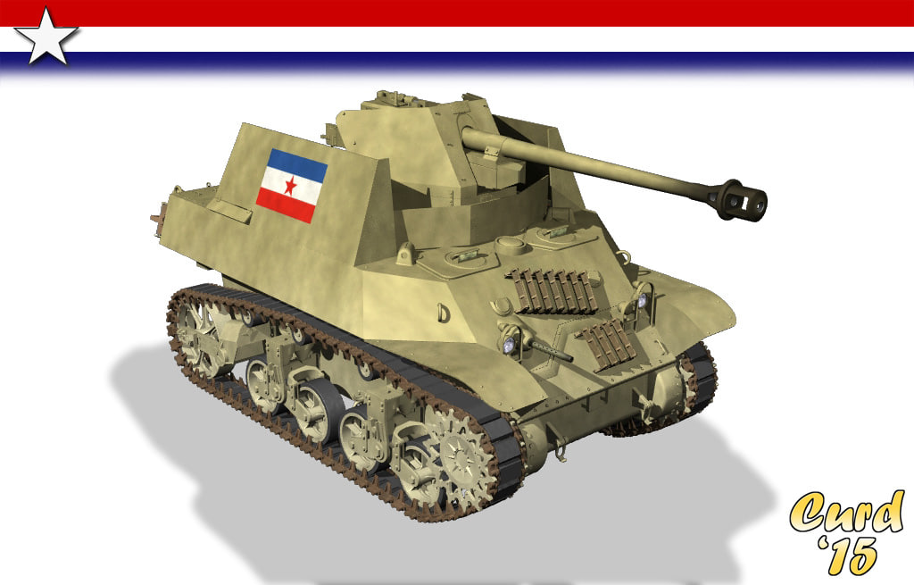 Military Tank For Sale >> lightwave wwii yugoslavia m3a3 tanks