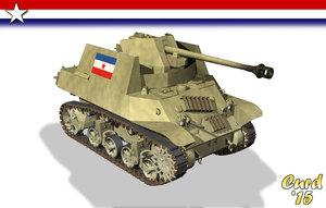 lightwave wwii yugoslavia m3a3 tanks