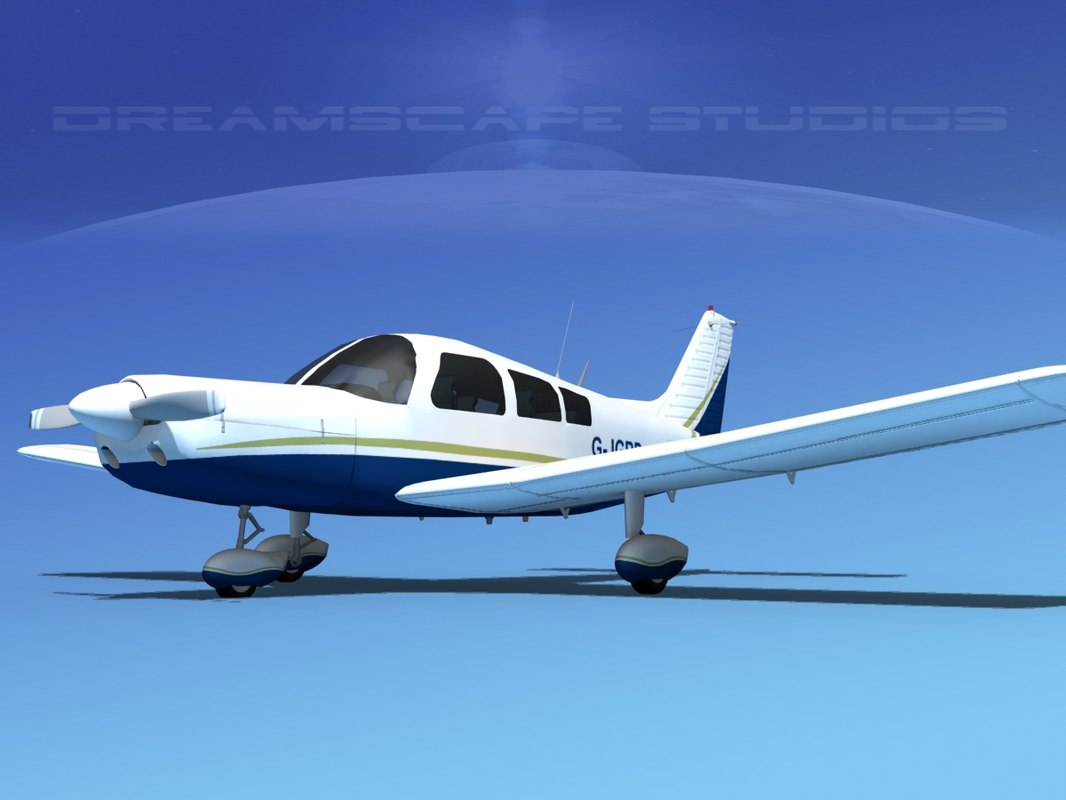 propeller piper pa-28 pa-28-235 dxf