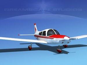 3d propeller piper pa-28 pa-28-235
