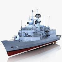 Anzac class frigate HMAS Perth FFH 157