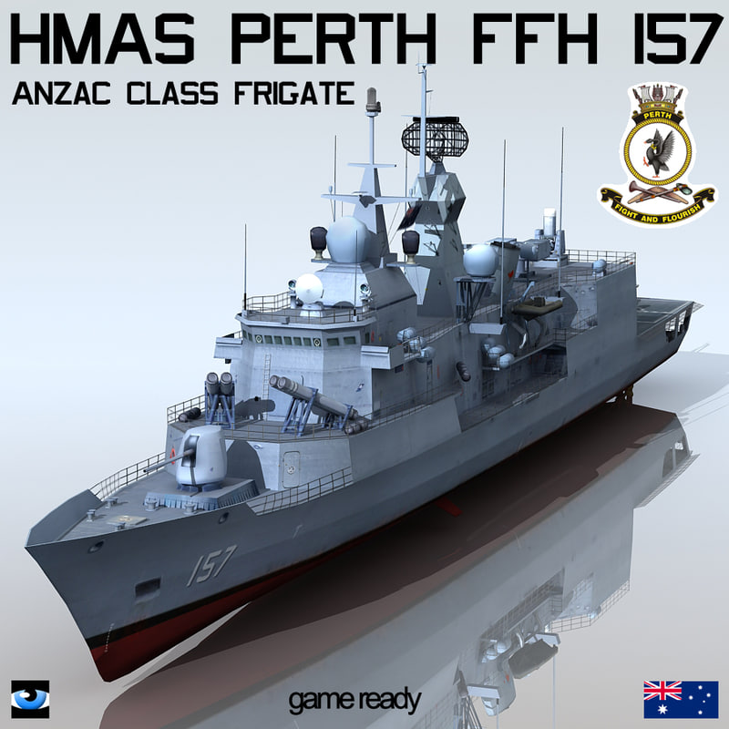 3d anzac class frigate hmas
