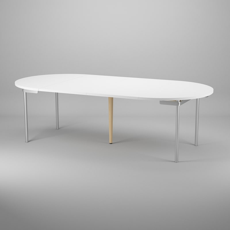 table hans j wegner 3d model