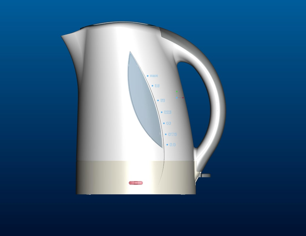 3d electric kettle