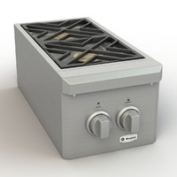 max monogram dual burner outdoor