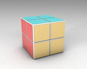 3ds max rubiks cube