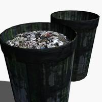 trash 3d max