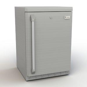 3ds max ge outdoor indoor refrigerator