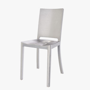 hudson emeco chair 3d 3ds