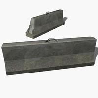 max concrete barrier
