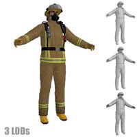 3d fireman 2