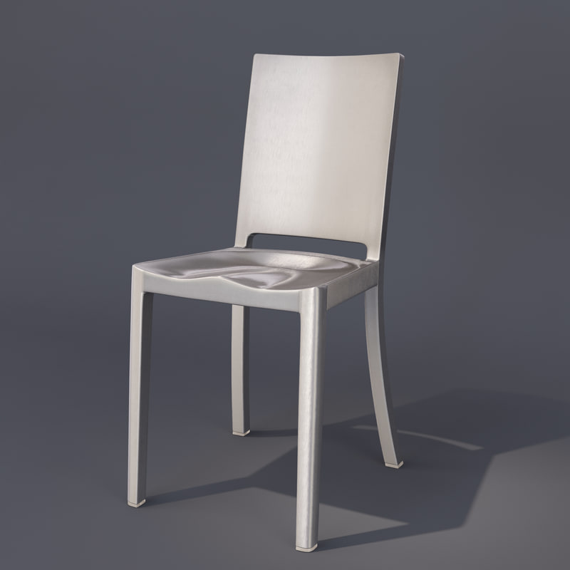 hudson emeco chair 3d 3ds