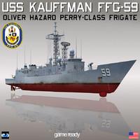 USS Kauffman FFG-59 Frigate