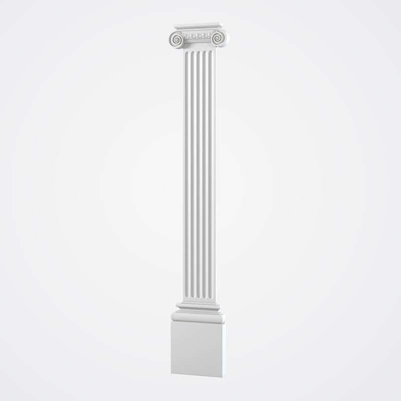 max ionic pilaster