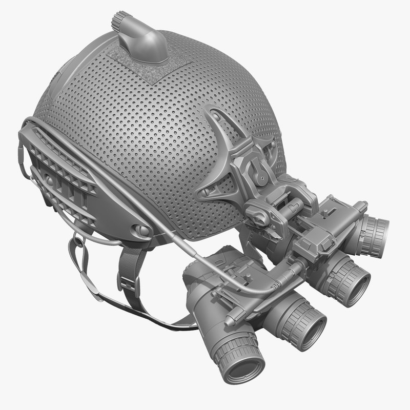 ground night vision goggles 3d obj
