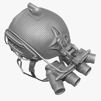 Ballistic Helmet & Ground Paranomic Night Vision Goggles(1)