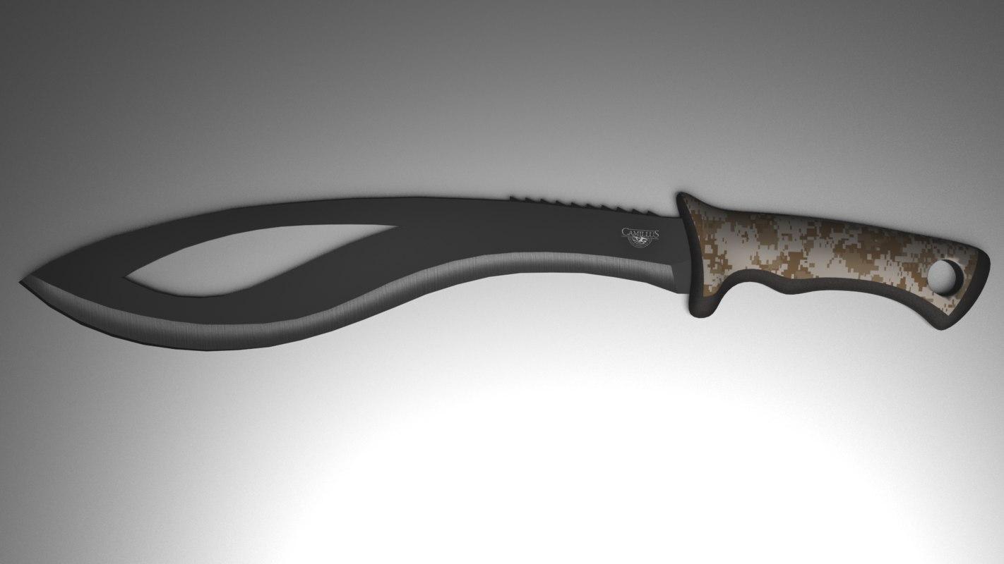 tactical knife blend
