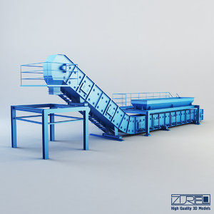 drycon industry 3d model