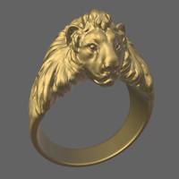 Lion signet