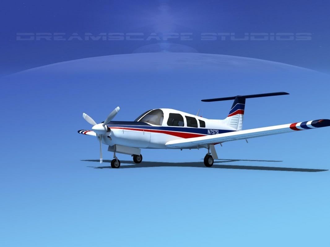 3d propeller piper arrow iii