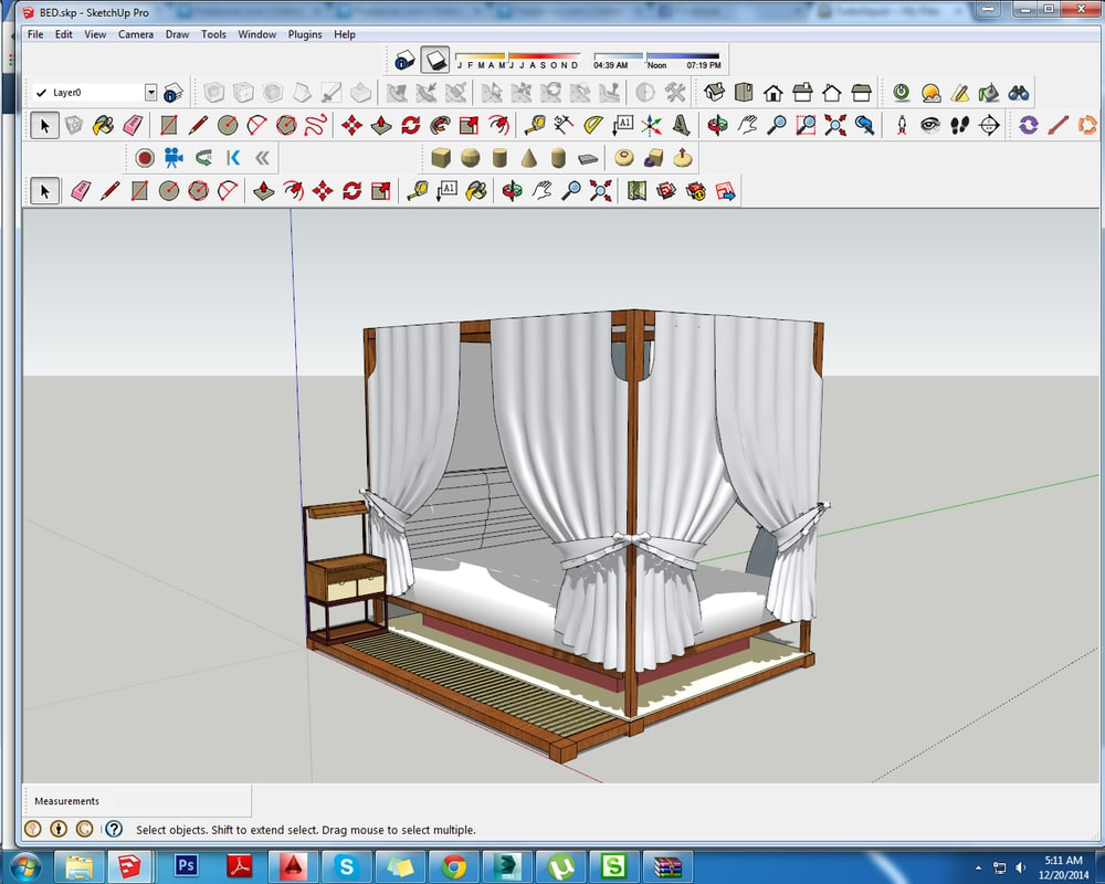 3d kingbed