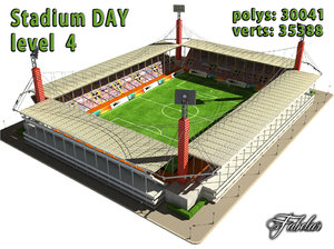 stadium level 4 3ds