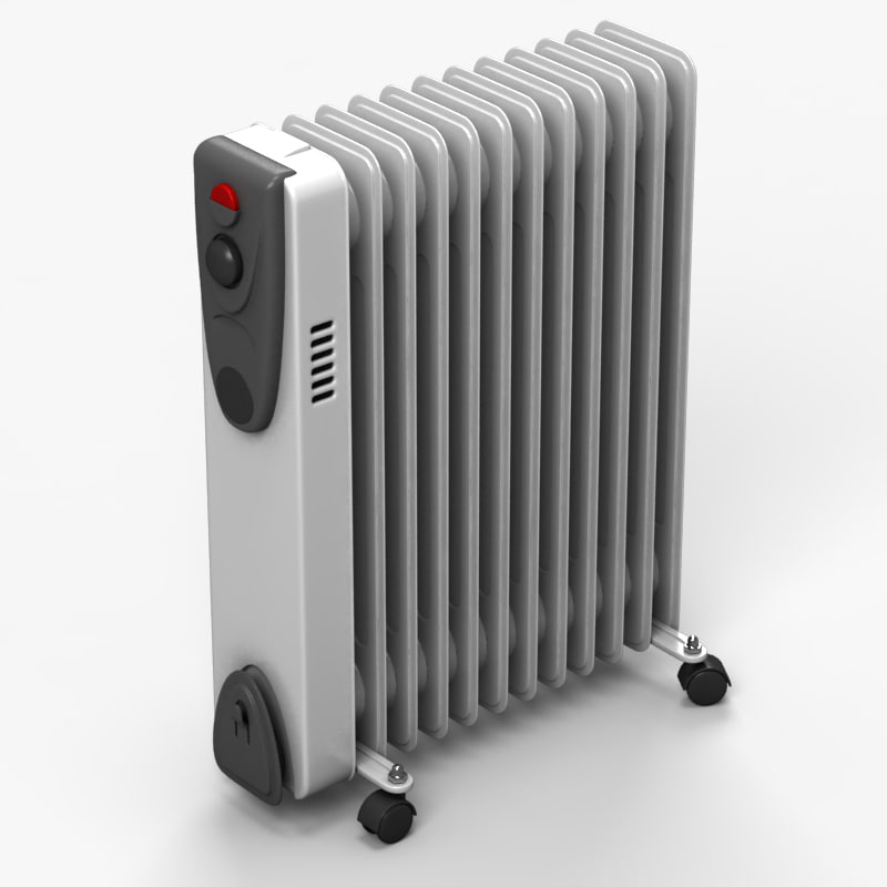 3ds radiator heater