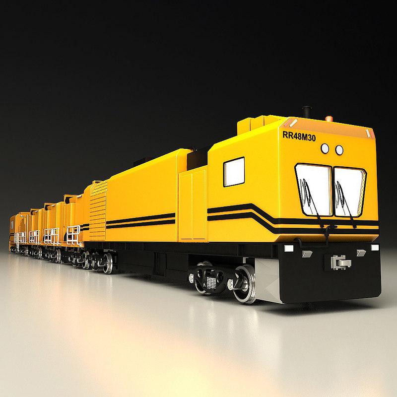3d nurms train model