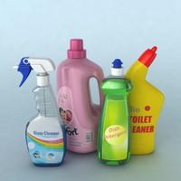 Detergent Bottles