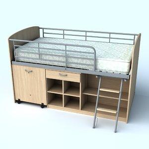 lw loft bed