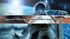 astronaut v2 3d model
