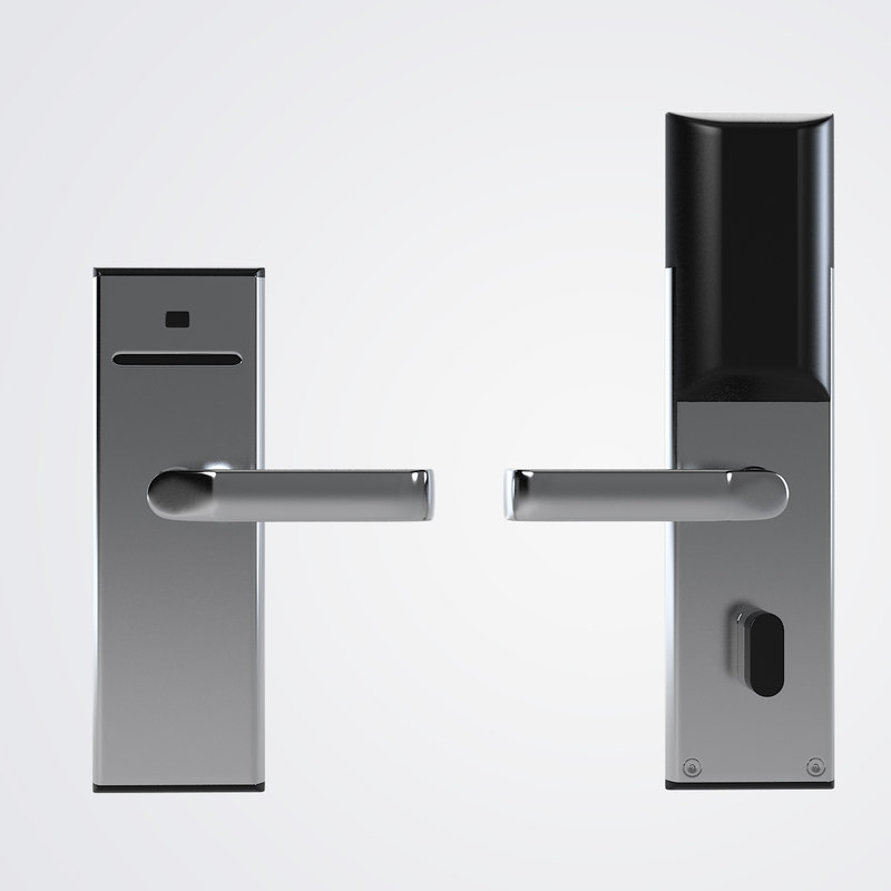 3ds max hotel door handle lock