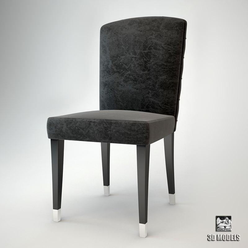 fendi casa chair 3d max
