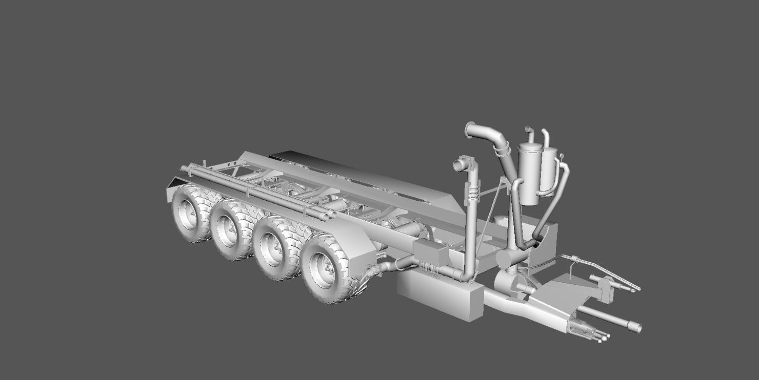 chassis gülleanhänger obj