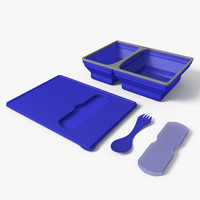 3d model lunch box