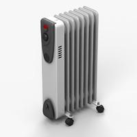 radiator heater 3d model