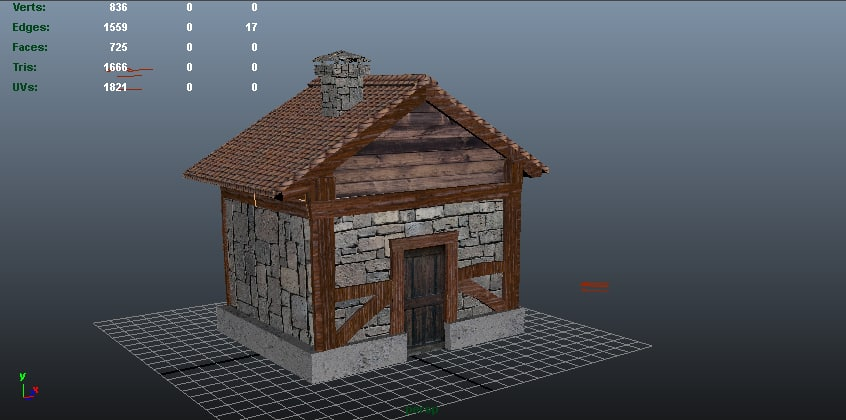 shed house dwg