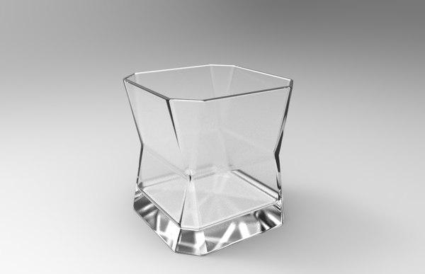 runner whiskey glass 3ds free