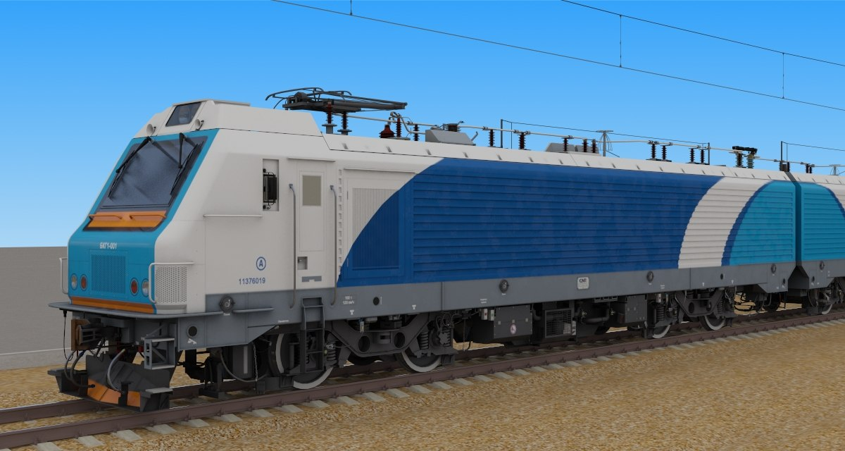 3d belorussian bcg1 electric freight
