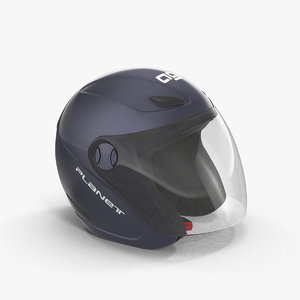 motorcycle helmet 3d max