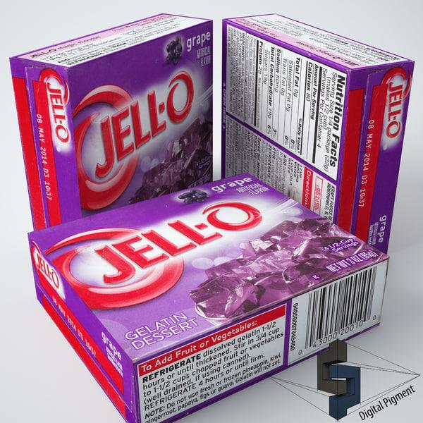 max jell-o grape gelatin