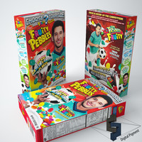 3ds max fruity pebbles cereal box