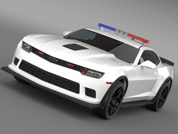 chevrolet camaro z28 police max