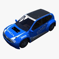 3ds max dacia duster car
