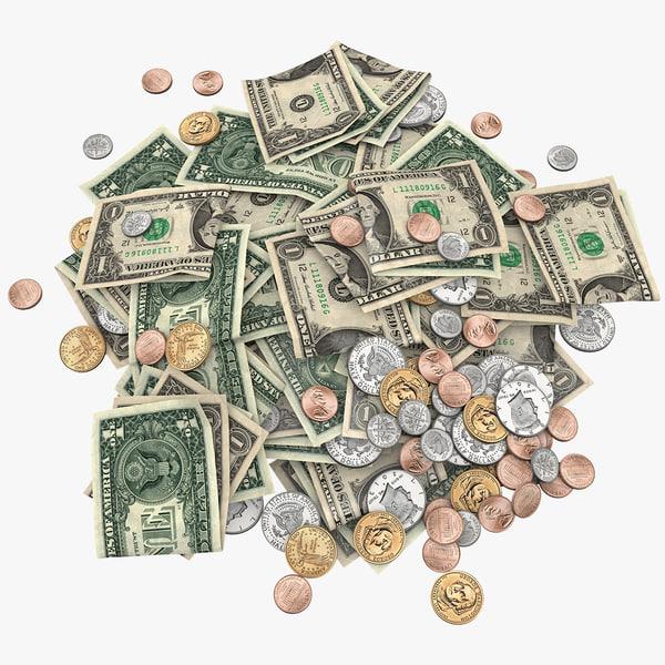 pile money