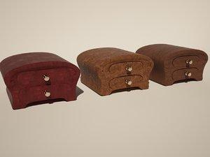 3d model jewelry box 3