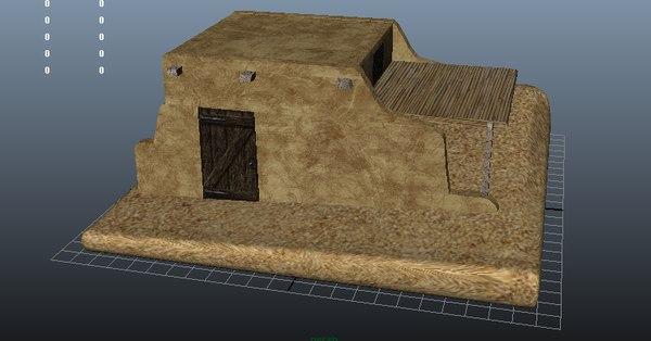 3d arabic house model